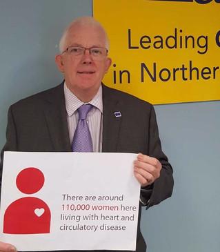 Dickson Raises Awareness for World Heart Day 2017