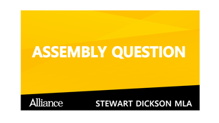 Assembly Written Question 12340/17-22
