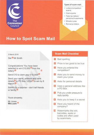Can You Spot a Scam Letter?