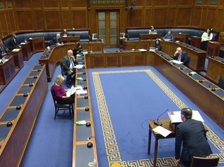Stewart Questions Health Minister on Covid-19 Response