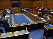 Stewart Asks Question to Economy Minister on Business Support