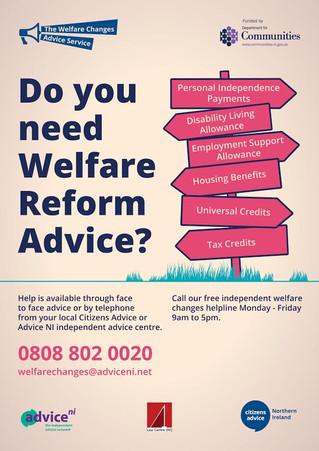 Independent Welfare Changes Helpline