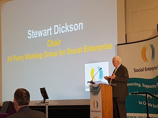 Dickson Addresses Social Enterprise Conference