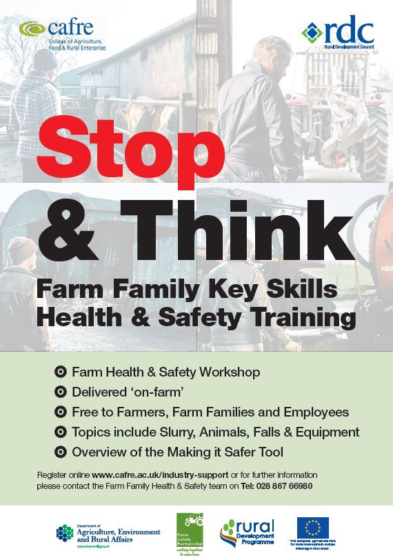 Stop & Think, Farm Family Key Skills Health & Safety Training