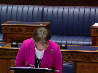 Stewart Asks the First Minister Follow-on Questions from the Mother-and-Baby Report
