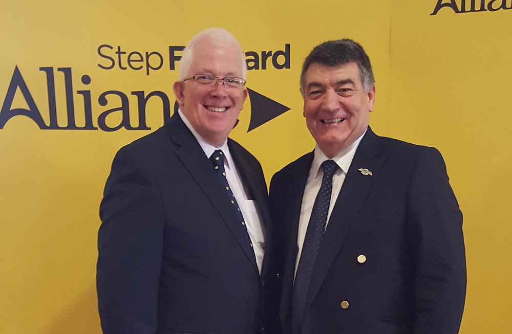 Stewart Dickson MLA and Former Councillor Wg Cdr Noel Williams