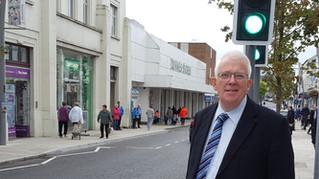 Dickson Condemns Suspected Arson in Larne