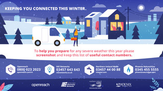 Useful Contacts for Keeping Connected this Winter