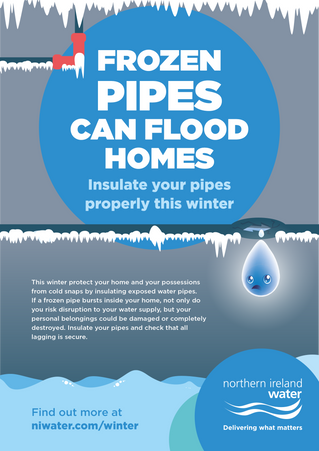 Frozen Pipes Can Flood Homes, Make Sure You Insulate This Winter!