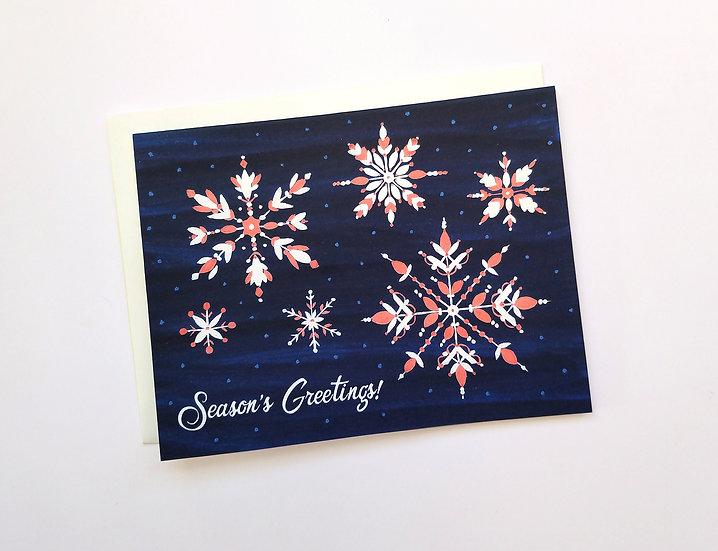 Season's Greetings! Holiday Card