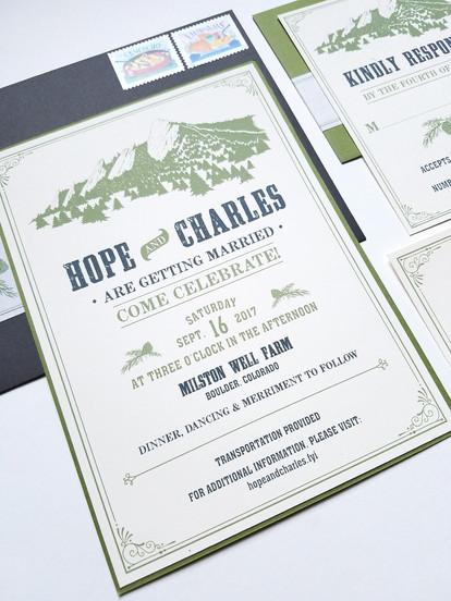 Boulder Farm Wedding: Hope & Charles