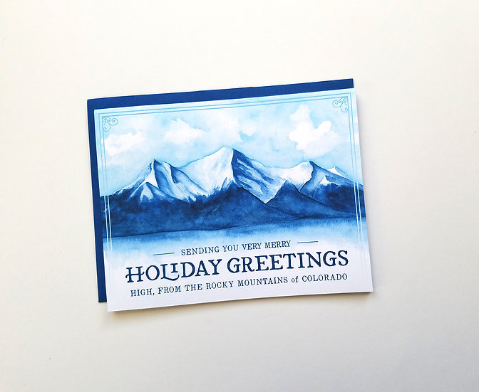 High Holiday Greetings Note Card