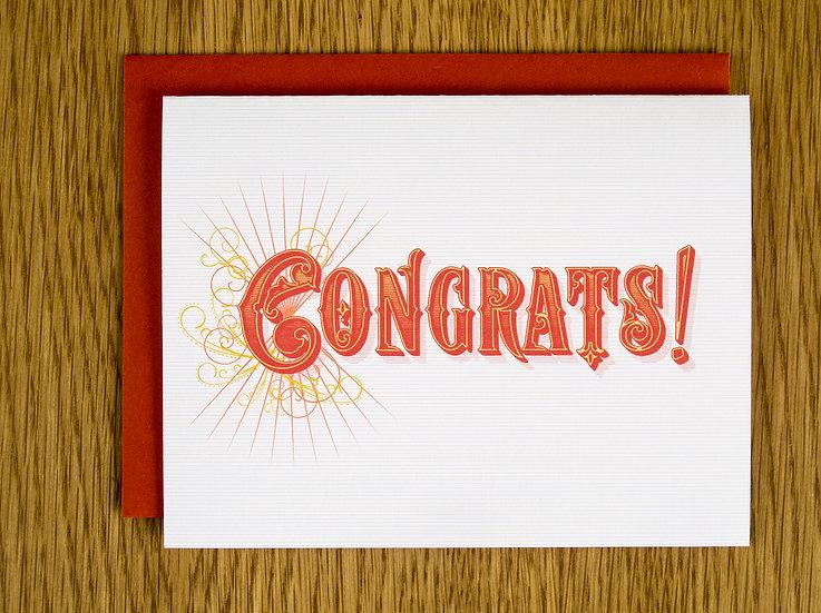 Congrats! Note Card