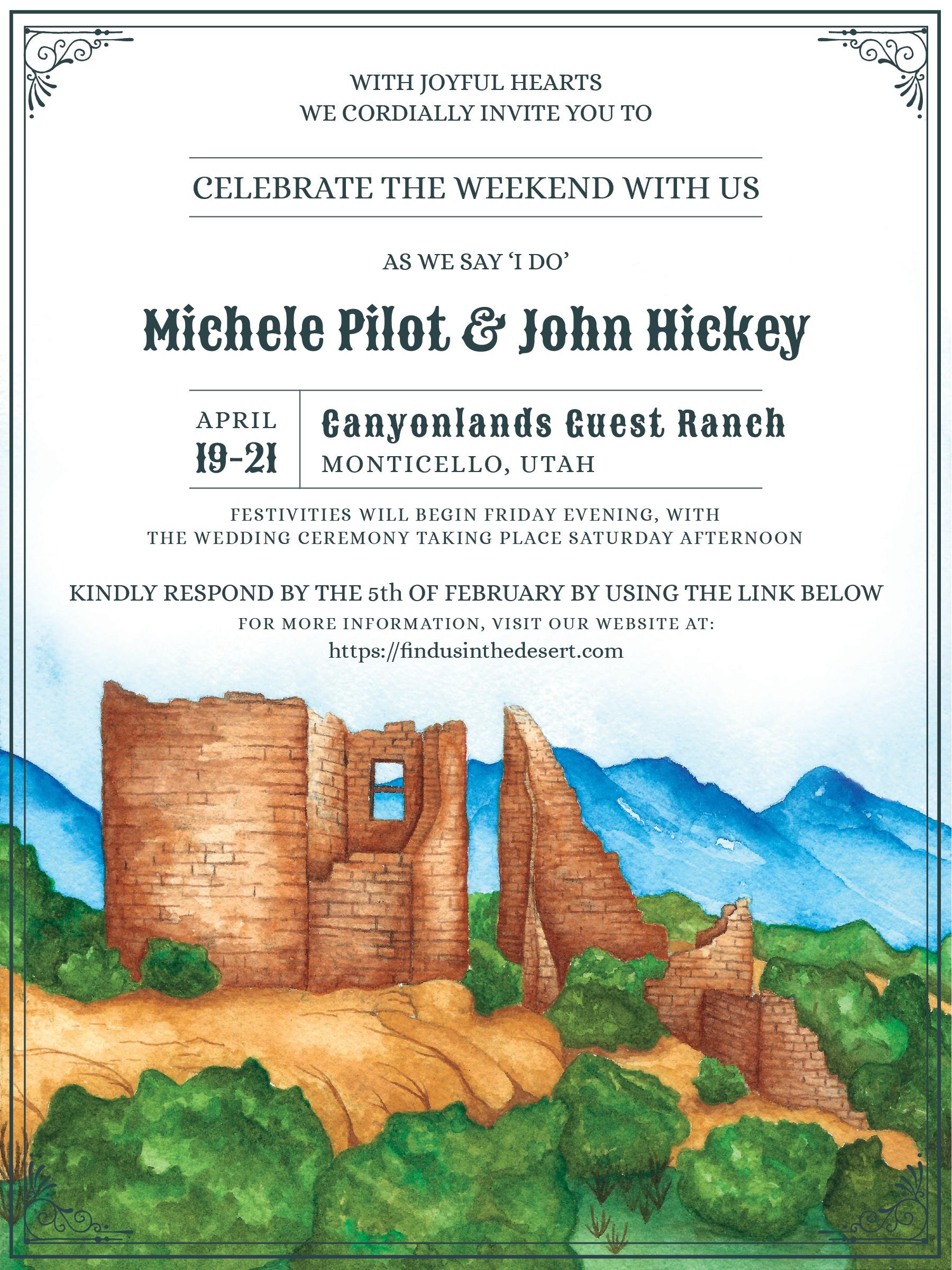 Michele and John