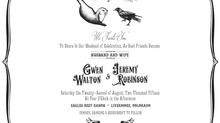The Otter and The Crow – A Paperless Wedding Invitation