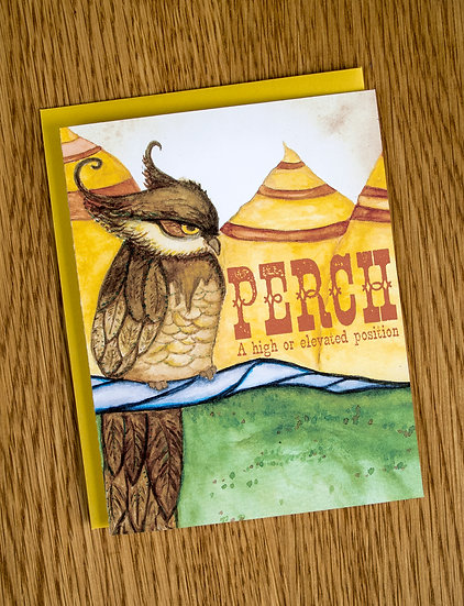 PERCH Note Card