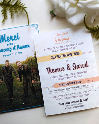 South of France Destination Wedding: Thomas & Jared