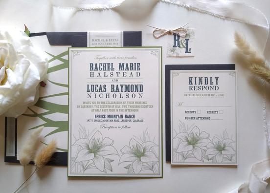 Western Lily Wedding: Rachel & Lucas