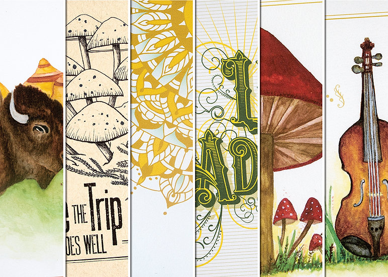 Mix 'n Match Set of 6 Note Cards
