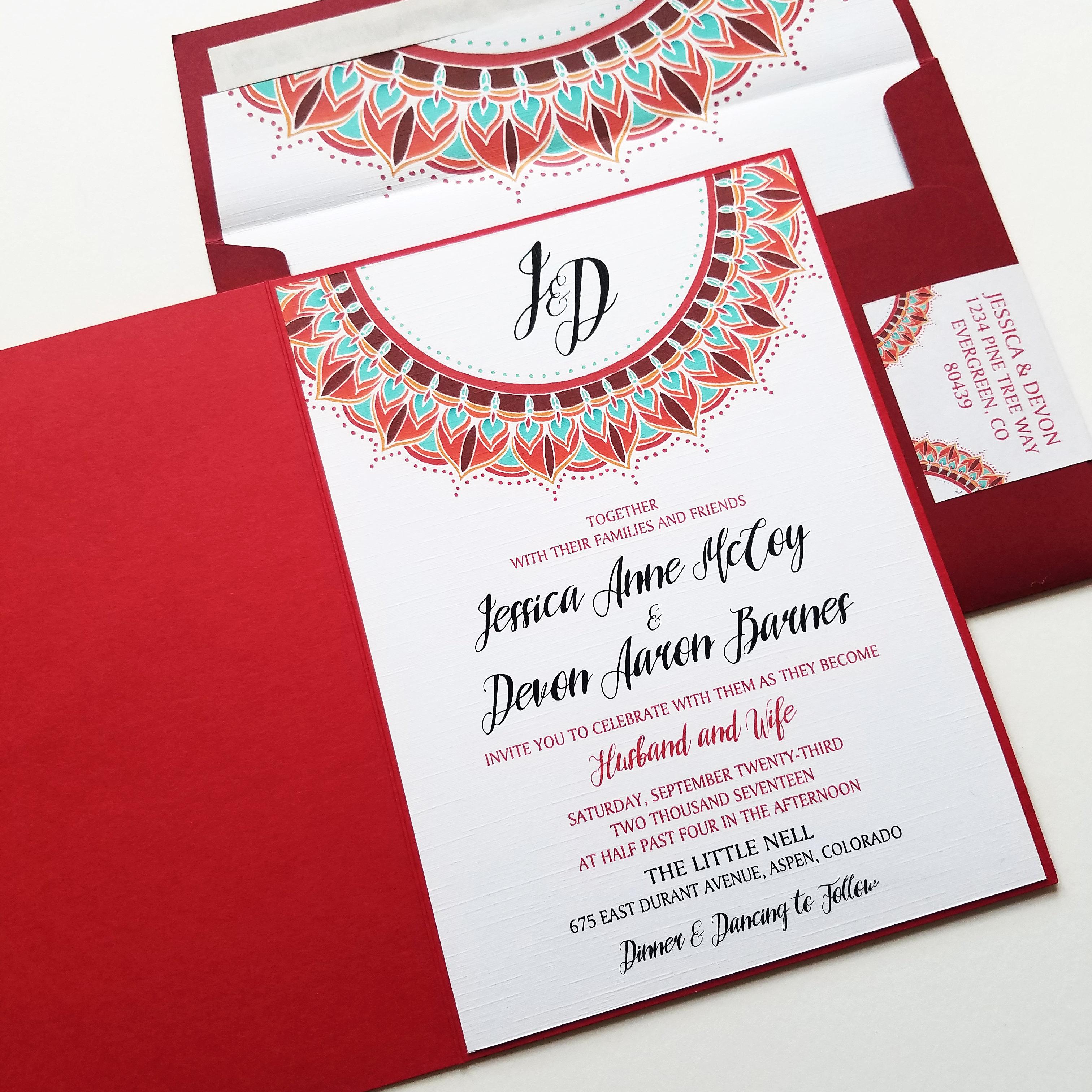 Modern Address Labels For Wedding Invitations Pattern - Invitations ...