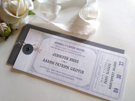 Nantucket Destination Wedding: Jennifer & Aaron