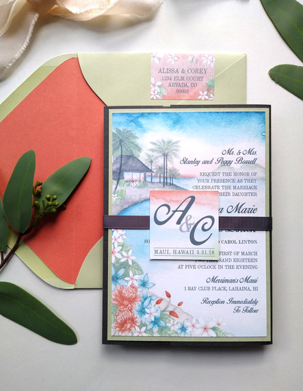 Maui Destination Wedding: Alissa & Corey