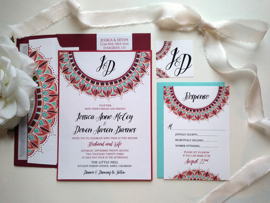 Sun Mandala Wedding: Jessica & Devon