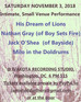 ACOUSTIC SHOW with His Dream of Lions, Nathan Gray (Boy Sets Fire), Jack O'Shea (Bayside) and Mi