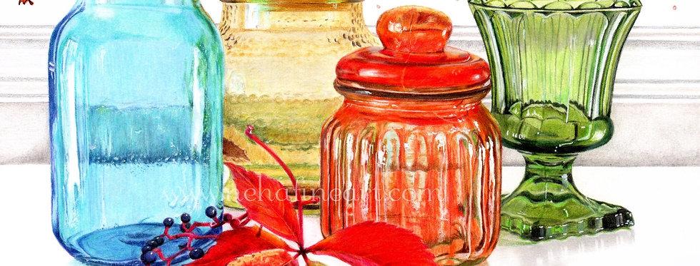 Colorful Jars
