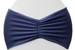 Bande spandex bleu marin