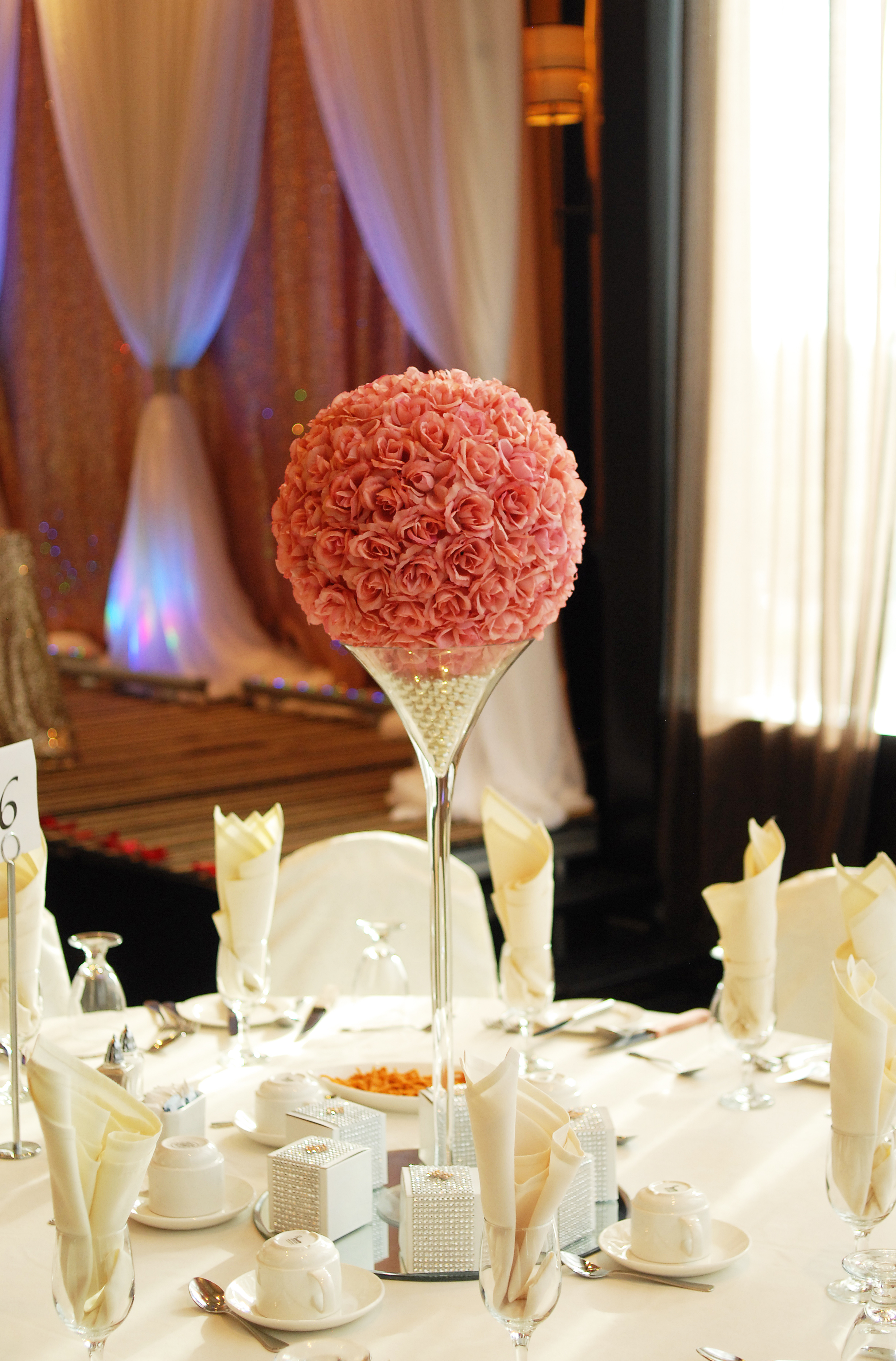 Blush Rose ball