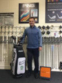 Alistair Welsher TrackMan PING Devon Golf Lab
