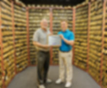 John Solheim Alistair Welsher PING Award Gold Putter Vault