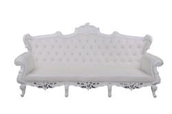 Baroque canapé blanc