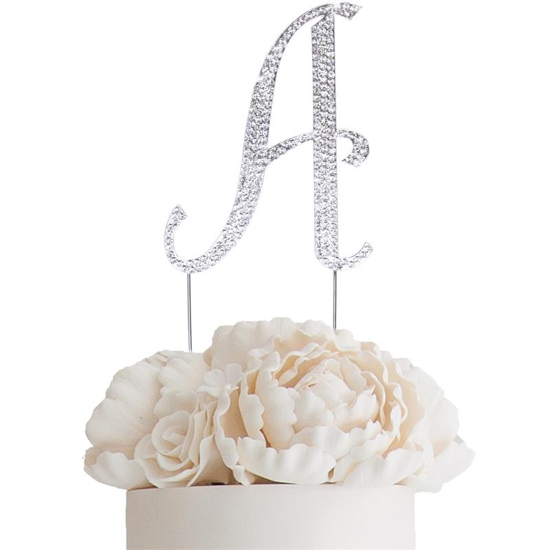 Crystal Cake Topper