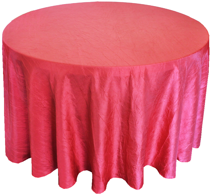 Hot Pink CrinkleTablecloth