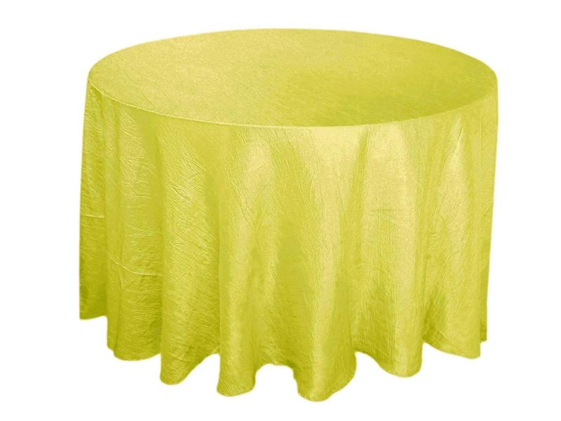 Yellow Crinkle Tablecloth