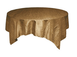 Antique Gold Crinkle Overlay