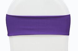Bande spandex violet