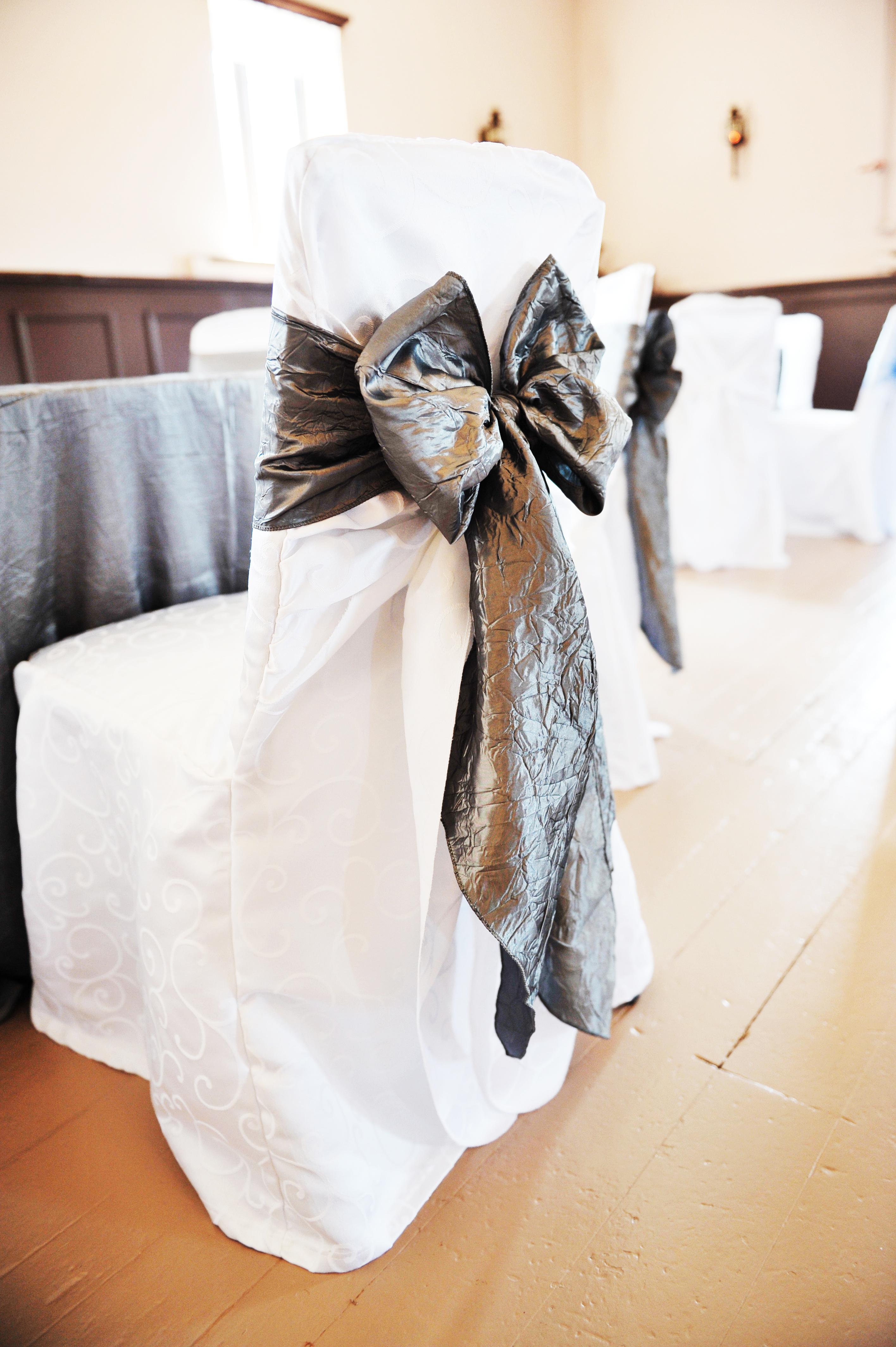 Dark Silver Sash