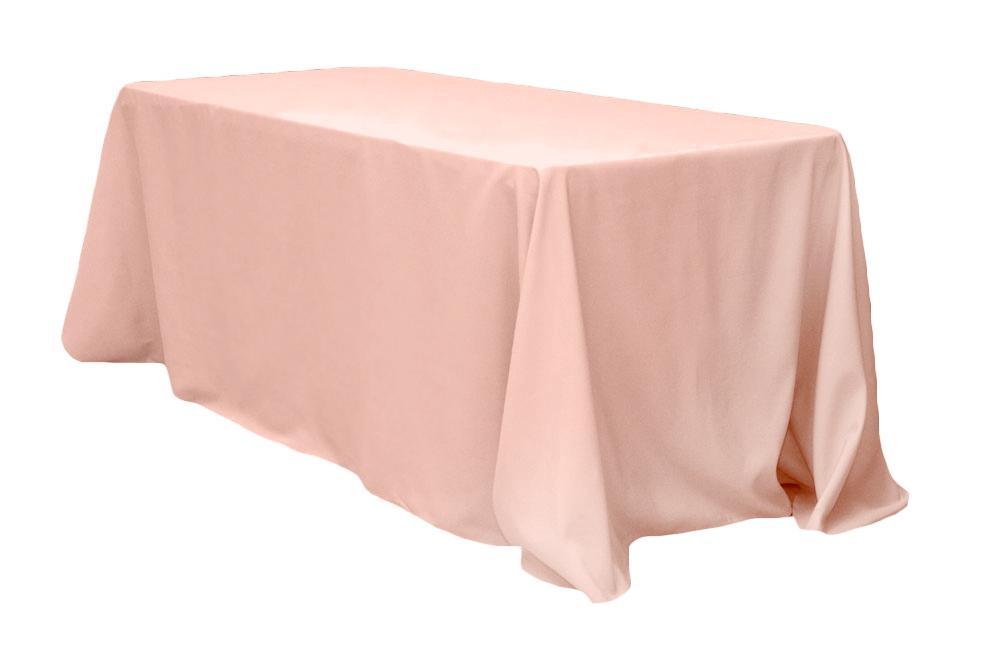 Blush lamour tablecloth