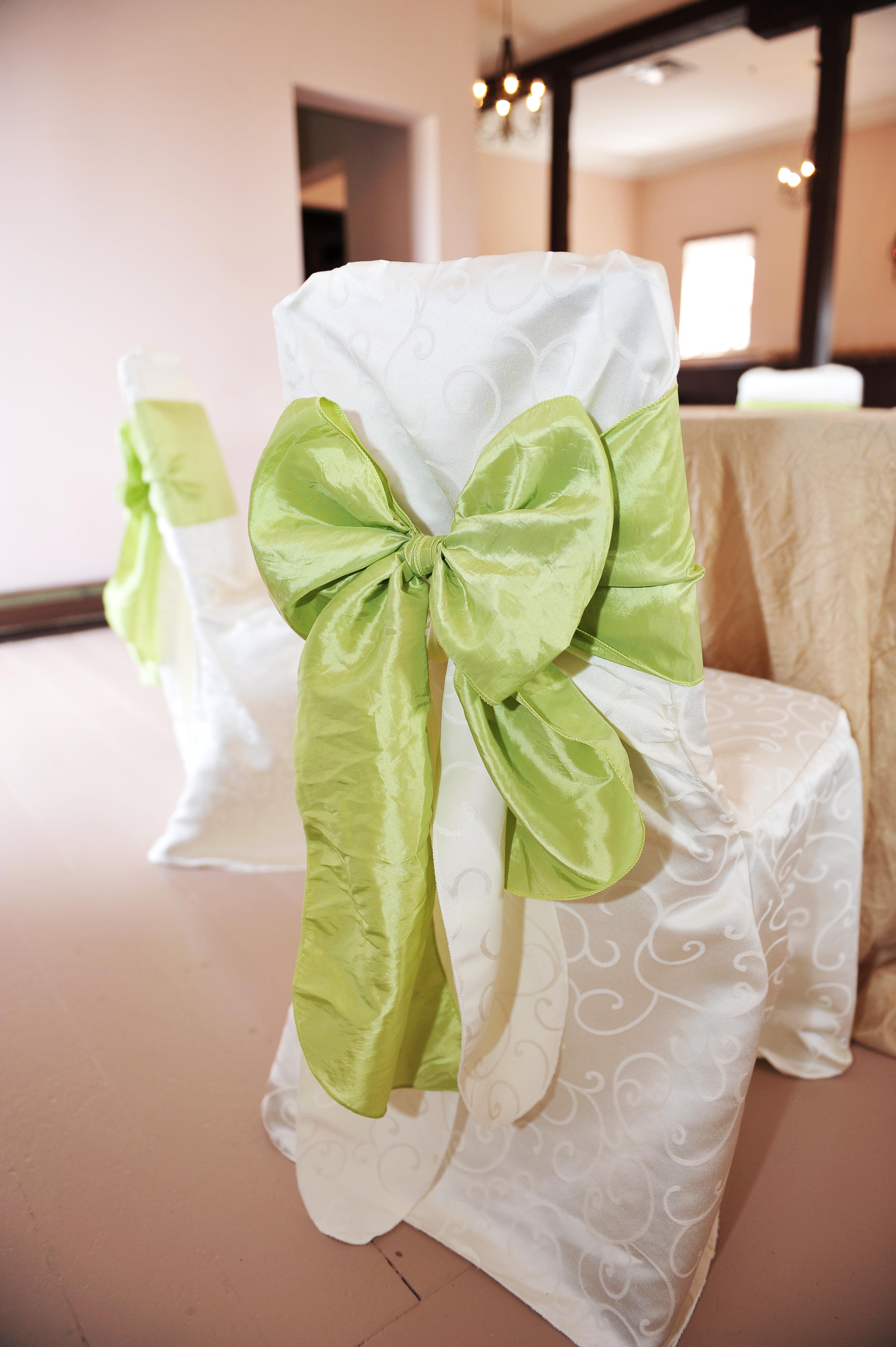 Apple green sash
