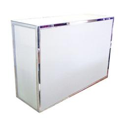 Bar blanc en acrylique