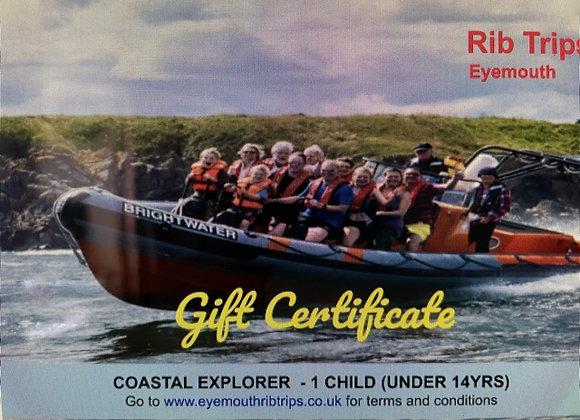 Gift Voucher - Coastal Explorer - 1 child under 14yrs