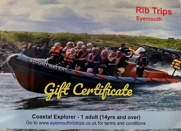 Gift Voucher - Coastal Explorer - 1 adult (14yrs and over)