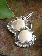 Unusual Sterling Silver Earrings from the PMC Sterling Collection | Roca Jewelry Designs