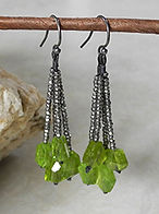 Unusual Earrings fro Women from the Della Terra Collection | Roca Jewelry Designs