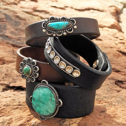 Group of 4 Rein & Harness Bracelets - Sky Stone Collection