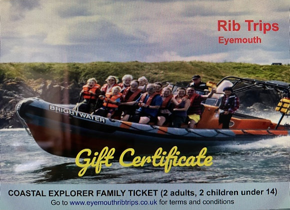 Gift Voucher - Coastal Explorer - family ticket