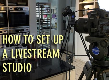 How to Setup a Simple Livestream Studio